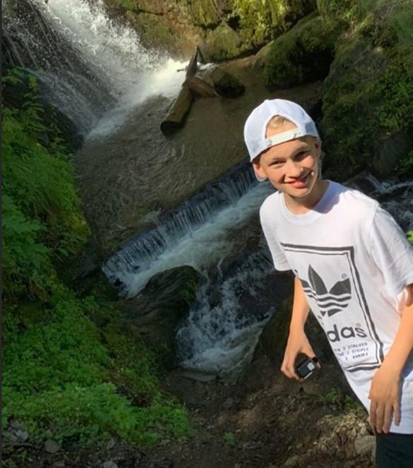 Сын Олеси Судзиловской Артем. Фото: olesya_sudzilovskaya / Instagram
