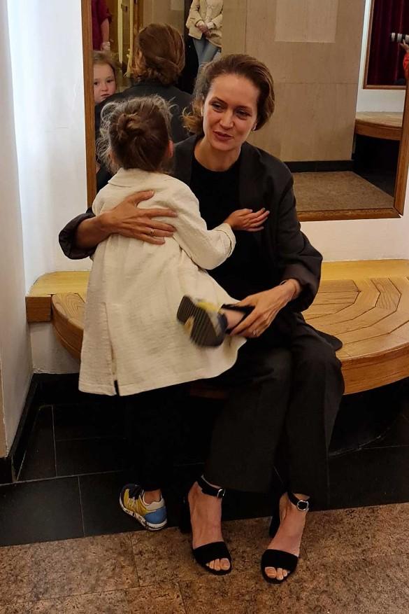 Виктория Исакова показала долго скрываемую дочь