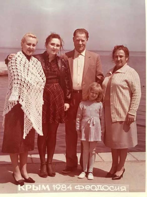 Семья Валентины Легкоступовой. Фото: личный архив