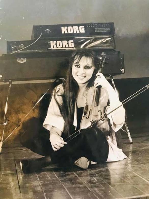 Валентина – студентка музыкального училища. Фото: личный архив