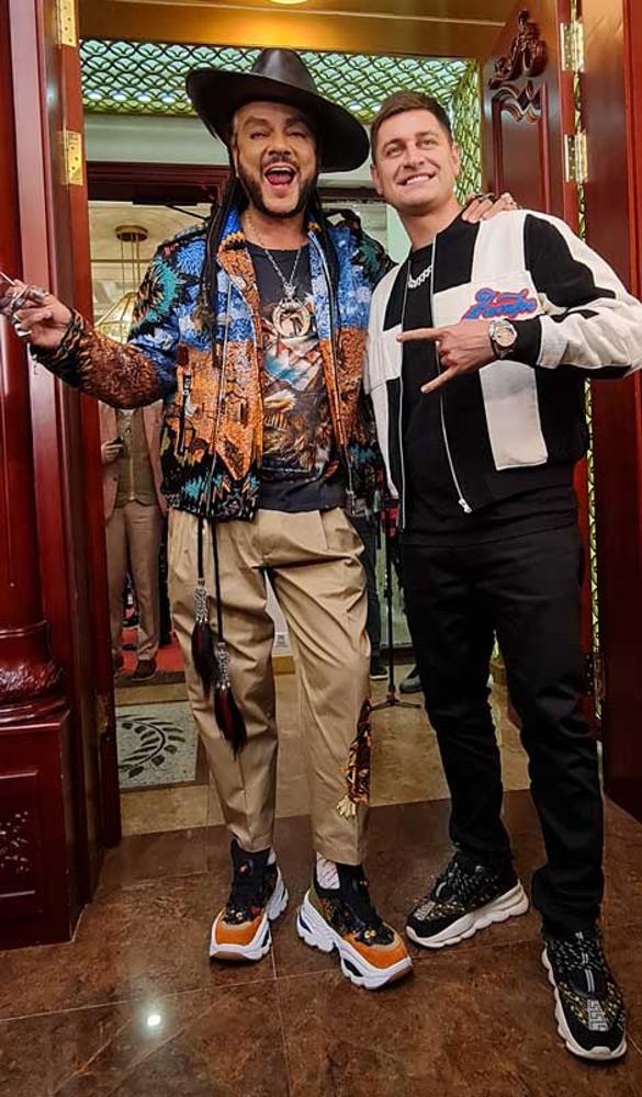 Филипп Киркоров и Dava. Фото: Феликс Грозданов/Дни.ру