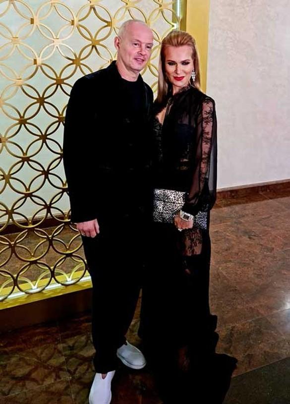 Олеся Судзиловская с супругом. Фото: Феликс Грозданов/Дни.ру