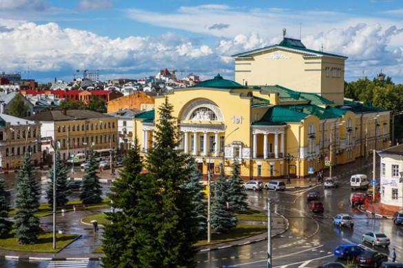 Ярославль. Фото: Ministry of Culture Russia/via Globallookpress.com/www.globallookpress.com