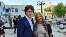 Наталья Бондарчук с мужем Игорем Днестрянским. Фото: Феликс Грозданов/Дни.ру