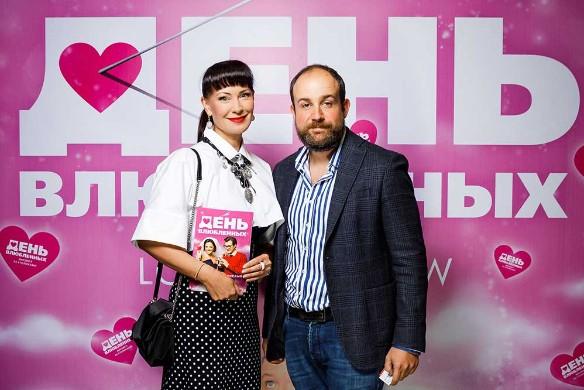 Нонна Гришаева с супругом. Фото: Пресс-служба