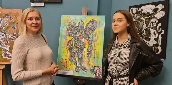 Анастасия Годунова с матерью Еленой. Фото: Дни.ру
