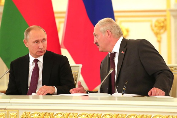 Vladimir Putin and Alexander Lukashenko.  Photo: Kremlin Pool / Global Look Press / www.globallookpress.com