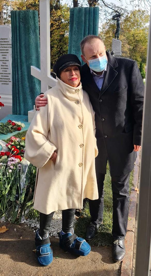 Людмила Поргина с сыном Андреем. Фото: Дни.ру