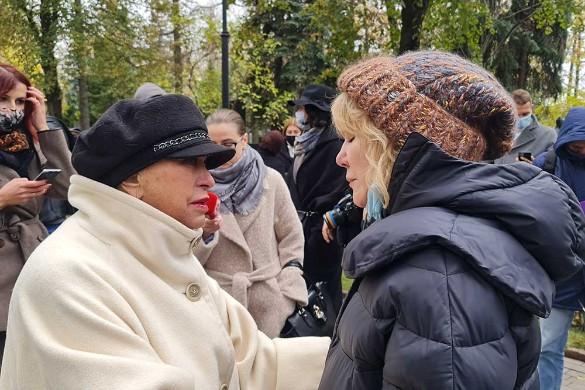 Людмила Поргина и Александра Захарова. Фото: Дни.ру