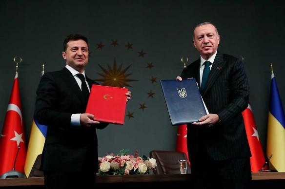 Реджеп Эрдоган и Владимир Зеленский. Фото: Xinhua/www.globallookpress.com