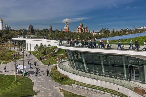 "Парк ""Зарядье"". Фото: Konstantin Kokoshkin/Global Look Press/www.globallookpress.com"