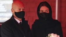 Федор Бондарчук и его супруга актриса Паулина Андреева. Фото: Михаил Терещенко/ТАСС
