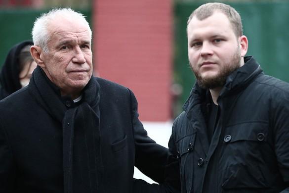 Сергей Гармаш и актер Сергей Бондарчук-младший. Фото: Михаил Терещенко/ТАСС