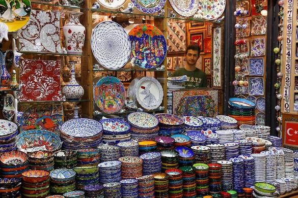 Стамбульский базар. Фото: Martin Siepmann/imageBROKER.com/www.globallookpress.com