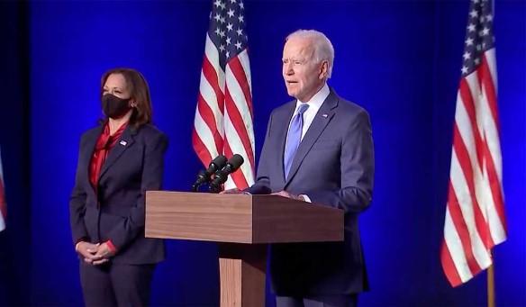 Джо Байден. Фото: Biden Campaign Video Feed/Keystone Press Agency/www.globallookpress.com