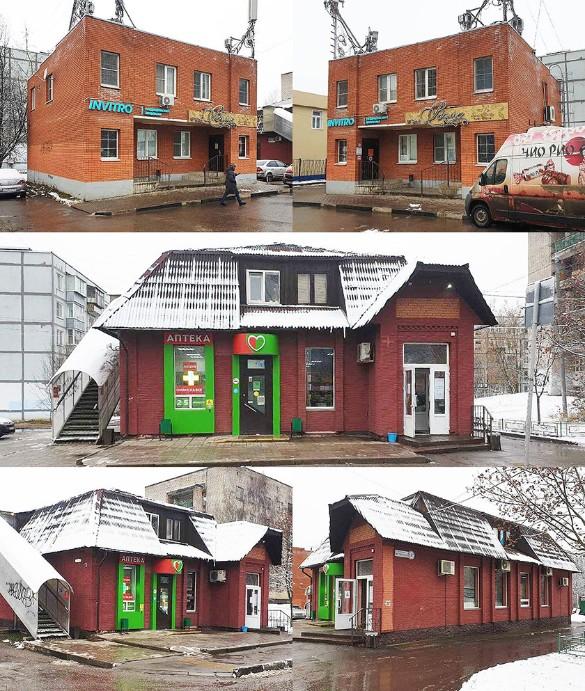 Торговые здания, которые супруги делили в суде. Фото: ridus.ru