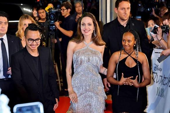 Анджелина Джоли. Фото:Kento Nara/ZUMAPRESS.com/www.globallookpress.com