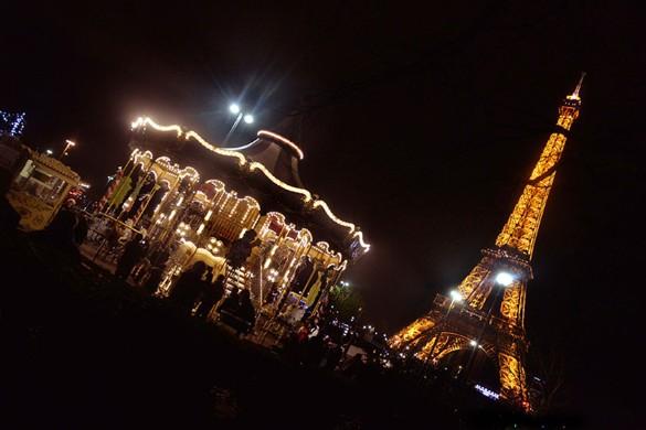 В новогоднюю ночь во Франции будет действовать комендантский час. Фото: Chen Xiaowei/Xinhua/www.globallookpress.com