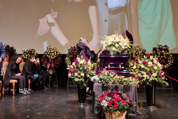 Похороны Бориса Грачевского. Фото: Дни.ру