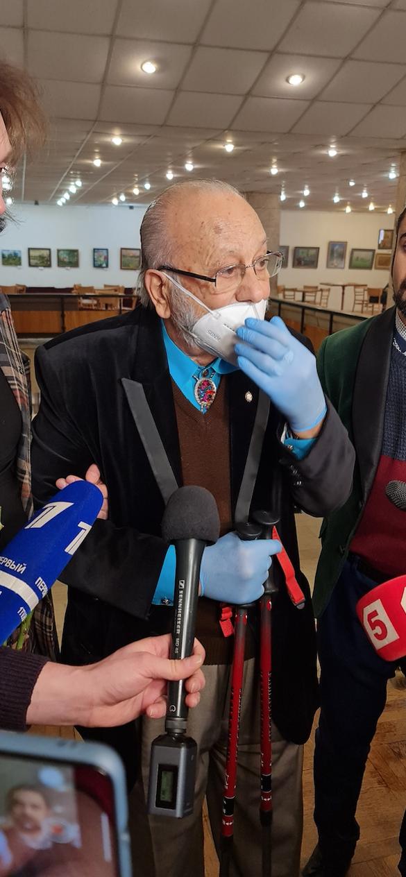 Церемония прощания с Борисом Грачевским. Фото: Дни.ру