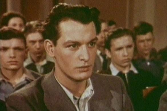 "Кадр из фильма ""Аттестат зрелости"" (1954)"