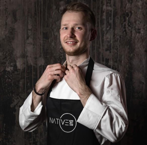 Шеф-повар Native Bar Олег Гаевский. Фото: Андрей Суворин