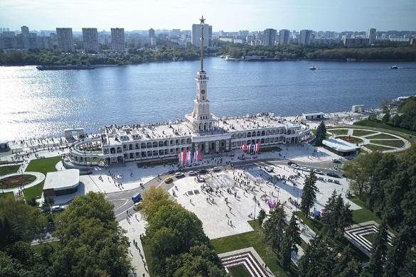 Северный речной вокзал. Фото: Агентство городских новостей «Москва»/Мобильный репортер