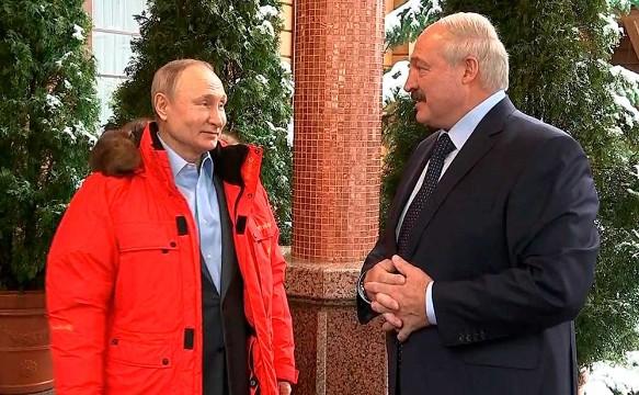 Александр Лукашенко и Владимир Путин. Фото: Kremlin Pool/Global Look Presswww.globallookpress.com