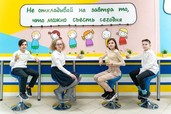 ЮЗАО Школа Карамзина Страна еды. Фото: Тазеев-Гриценко Руслан Тагирович