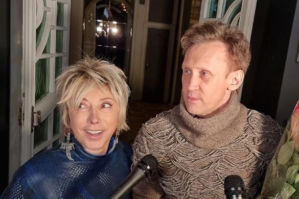 Елена Воробей и Сергей Дроботенко. Фото: Феликс Грозданов/Дни.ру