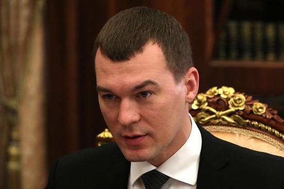 Михаил Дегтярев. Фото: Kremlin Pool/Global Look Press/www.globallookpress.com