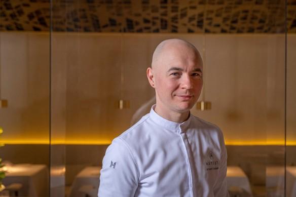 Шеф-повар ресторана Artest Артем Естафьев. Фото: пресс-служба