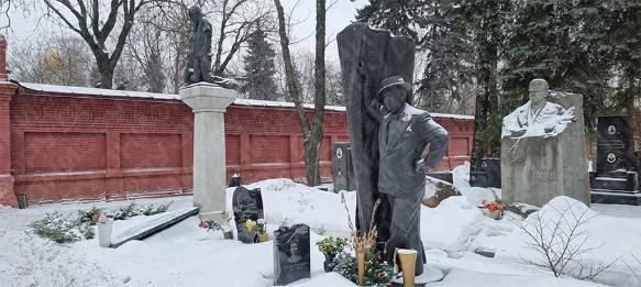 Могила Бориса Брунова. Фото: Дни.ру