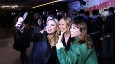 Анна Семенович, Полина Йодис, Юлия Беретта. Фото: пресс-служба