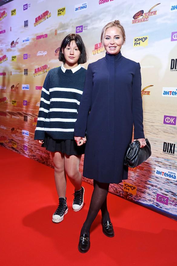 Дана Борисова и ее дочь Полина. Фото: пресс-служба