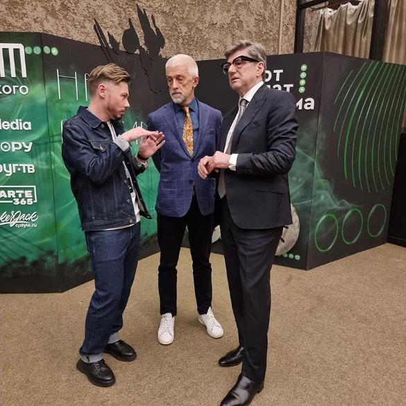 Дмитрий Бикбаев, Эдуард Бояков и Александр Звягинцев. Фото: Феликс Грозданов/Дни.ру
