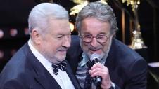 Юлий Гусман и Леонид Ярмольник. Фото: Гавриил Григоров / ТАСС