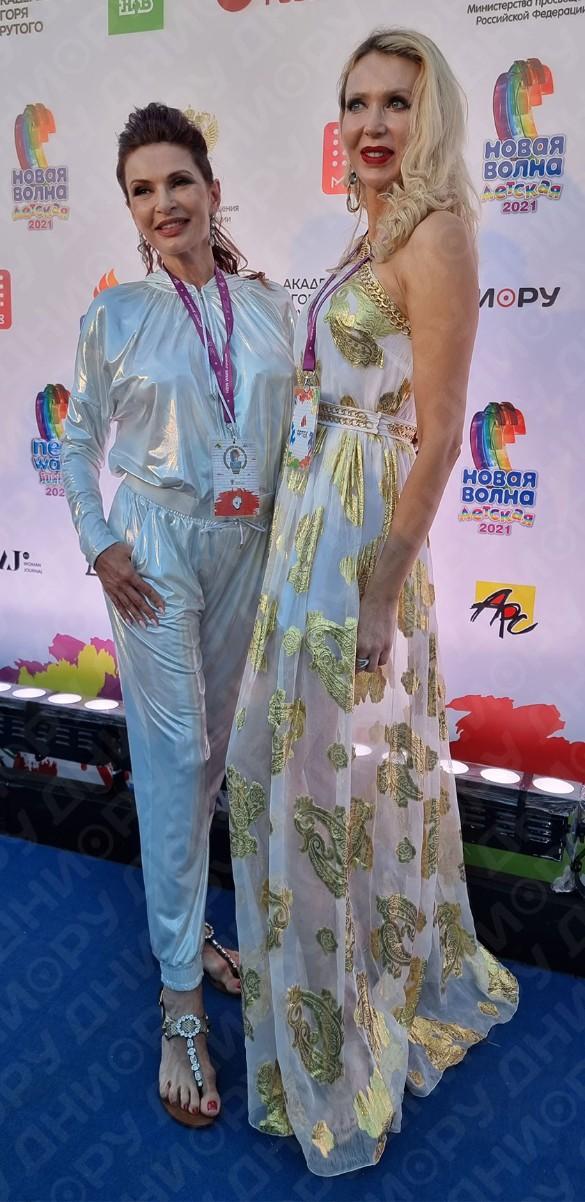Эвелина Бледанс и Евгения Машко. Фото: Феликс Грозданов/Дни.ру
