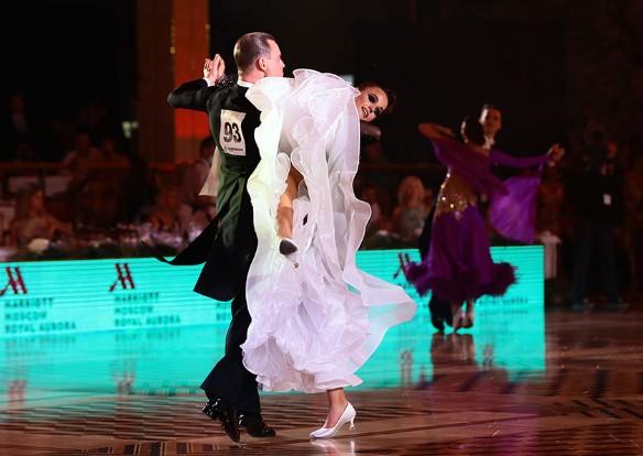 Игорь Резник и Мария Полищук (Украина). Фото: Дмитрий Плетнев