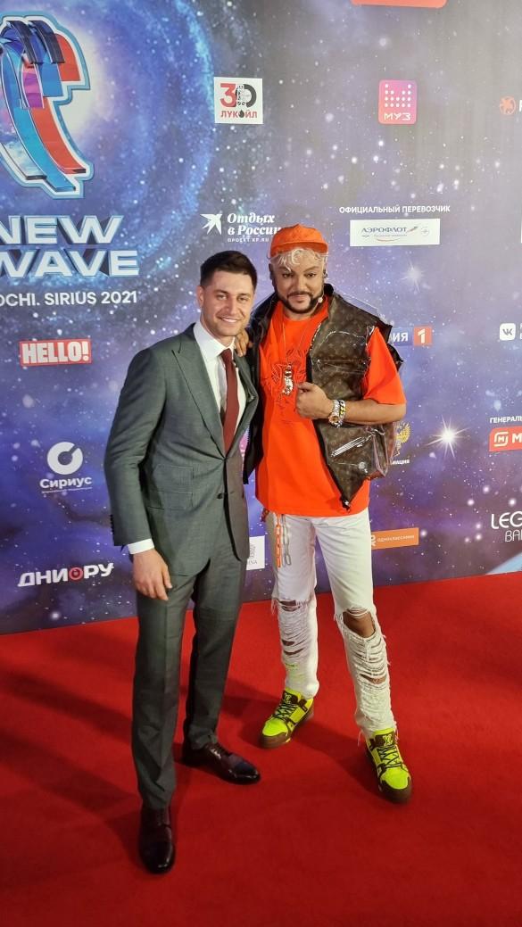 Филипп Киркоров и Давид Манукян. Фото: Феликс Грозданов/Дни.ру
