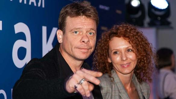 Актер Павел Майков и его жена Мария. Фото: Пресс-служба