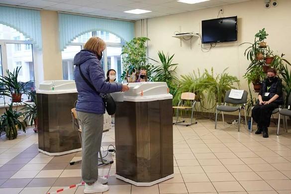 Путин поблагодарил россиян за активность на думских выборах