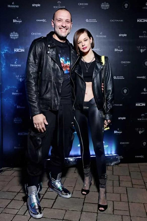Актриса Катерина Шпица с мужем. Фото: пресс-служба