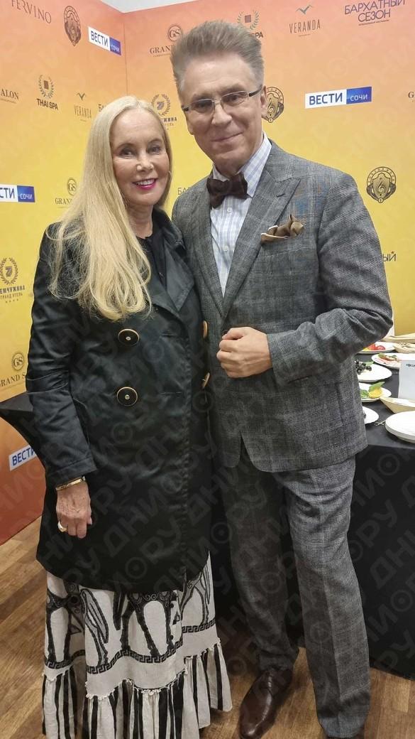 Нелли Кобзон и Владимир Березин. Фото: Дни.ру / Феликс Грозданов