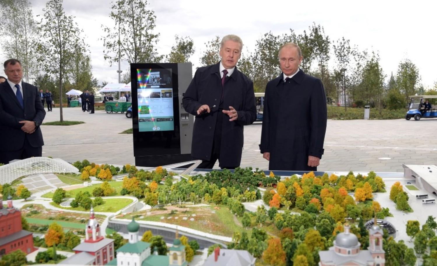 Владимир Путин и Сергей Собянин. Фото: kremlin.ru