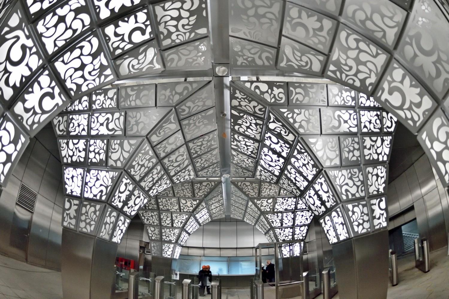 """Станция """"Новопеределкино"""". Фото: Stroi.mos.ru"""
