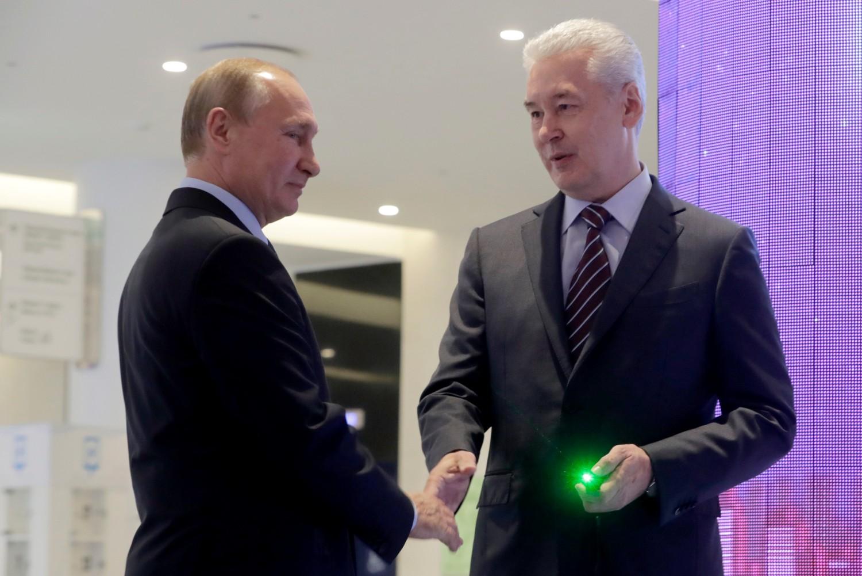 Владимир Путин и  Сергей Собянин. Фото: Михаил Метцель/ТАСС