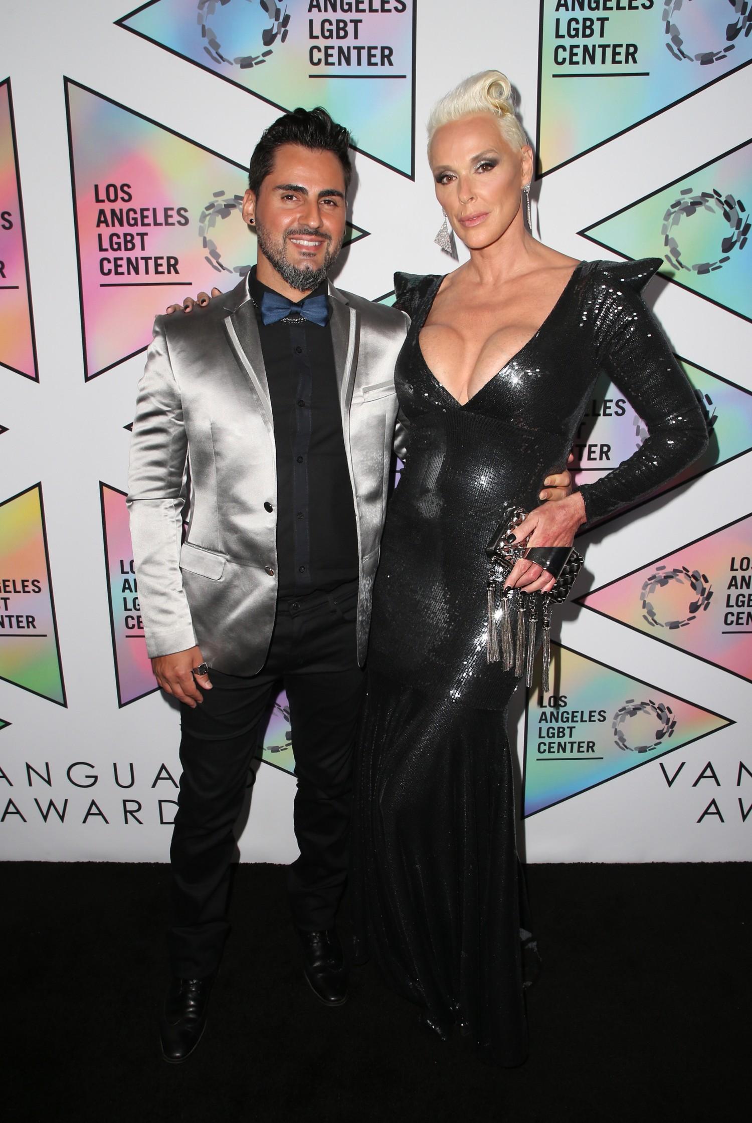 Бригитта Нильсен с мужем. Фото: GLOBAL LOOK press/Faye Sadou