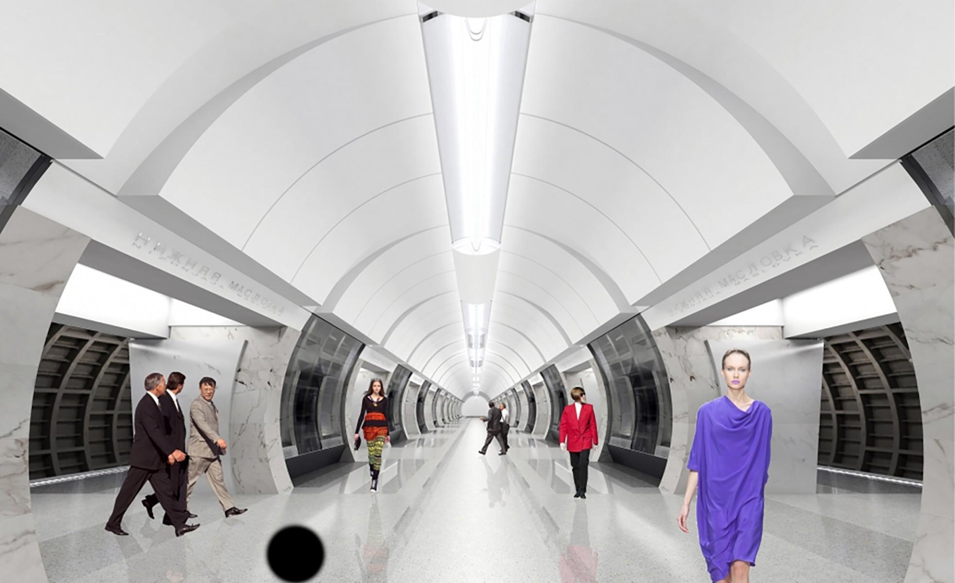 """Дизайн станции """"Савеловская""""Фото: stroi.mos.ru"""