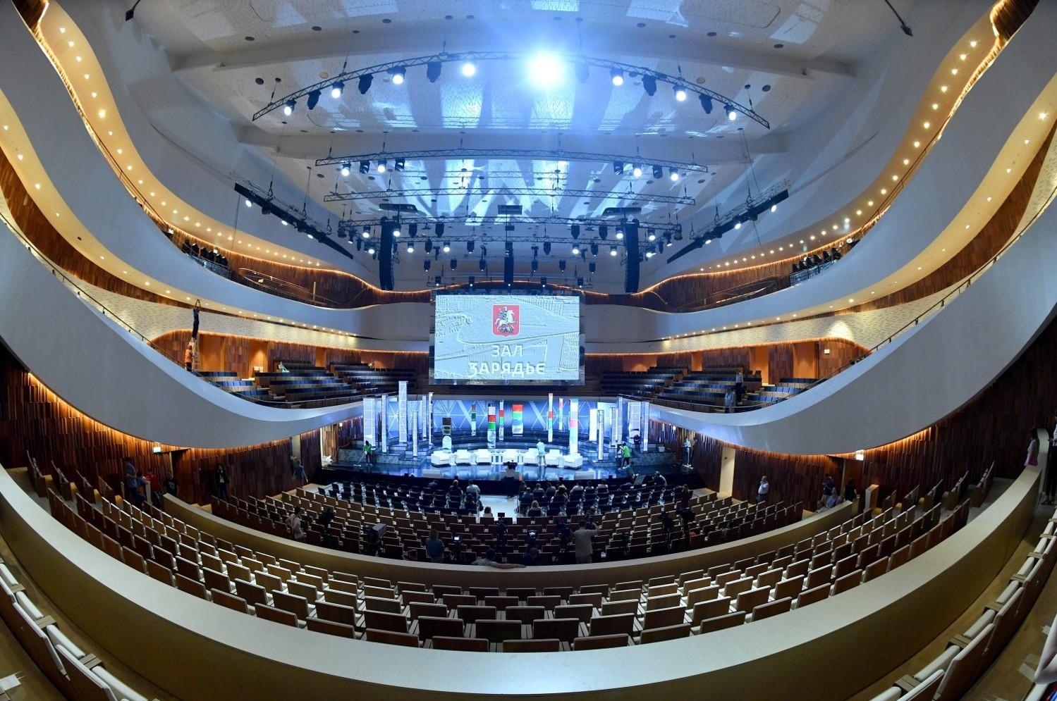 """Филармония в """"Зарядье"""". Фото: stroi.mos.ru"""